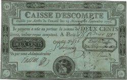 200 Livres FRANCE  1789 Laf.103 TTB