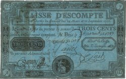 300 Livres FRANCE  1789 Laf.104 TB