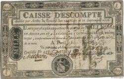 1000 Livres FRANCE  1790 Laf.115