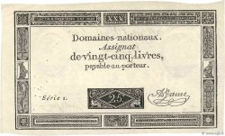 25 Livres FRANCE  1793 Ass.43v TTB