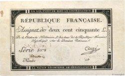 250 Livres FRANCE  1793 Ass.45v TTB+