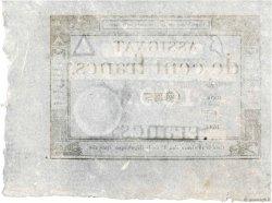 100 Francs FRANCE  1795 Ass.48a SPL