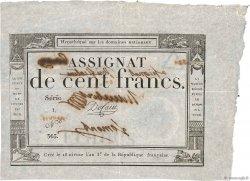 100 Francs FRANCE  1795 Ass.48v SUP