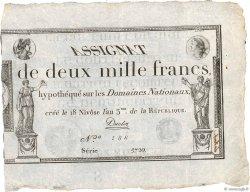 2000 Francs FRANCE  1795 Ass.51a SUP