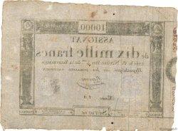 10000 Francs FRANCE  1795 Ass.52a TB