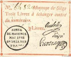 3 Livres FRANCE  1793 Kol.026 SPL