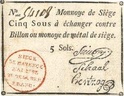 5 Sous FRANCE  1793 Kol.027 TTB+