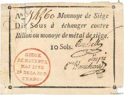 10 Sous FRANCE  1793 Kol.028 TB