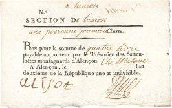 4 Livres FRANCE  1794 Kol.61.100var SUP