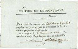 7 Livres 10 Sols FRANCE  1794 Kol.61.103 SPL