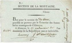 10 Livres FRANCE  1794 Kol.61.96var TTB