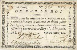 25 Livres FRANCE  1793 Kol.055 TTB