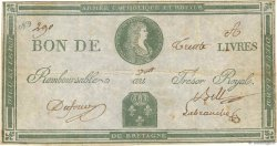 30 Livres FRANCE  1794 Kol.045var TTB