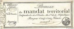 25 Francs sans série FRANCE  1796 Ass.59a SUP