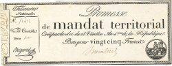25 Francs avec série FRANCE  1796 Ass.59b SUP