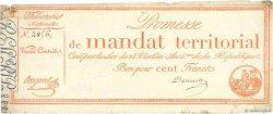 100 Francs sans série FRANCE  1796 Ass.60a TTB