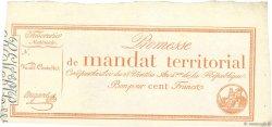 100 Francs sans série FRANCE  1796 Ass.60v SPL