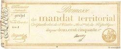 250 Francs avec série FRANCE  1796 Ass.61b pr.SUP