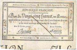 25 Francs FRANCE  1799 Laf.217 TTB