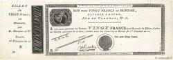 20 Francs FRANCE  1804 PS.245b SPL