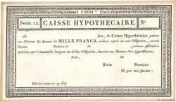 1000 Francs FRANCE  1800  SPL