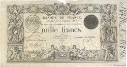 1000 Francs type 1842 Définitif FRANCE  1853 F.A18.12