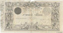 1000 Francs type 1842 Définitif FRANCE  1853 F.A18.12 TB+