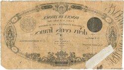 200 Francs type 1847I FRANCE  1848 F.A28.02 B