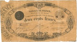 200 Francs type 1848 Succursales FRANCE  1848 F.A30.02 VG