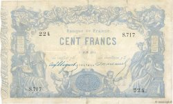 100 Francs type 1862 Indices Noirs FRANCE  1874 F.A39.10 TB+