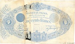 500 Francs type 1863 Indices Noirs FRANCE  1880 F.A40.14