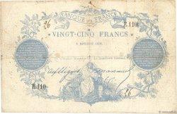 25 Francs type 1870 Clermont-Ferrand FRANCE  1870 F.A44.01 pr.TB