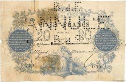 20 Francs type 1871 FRANCE  1871 F.A46.02 M