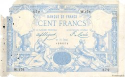 100 Francs type 1882 Lion inversé FRANCE  1882 F.A48bis.01 AB