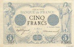 5 Francs NOIR FRANCE  1873 F.01.22 TTB+