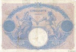 50 Francs BLEU ET ROSE FRANCE  1900 F.14.12 pr.TB