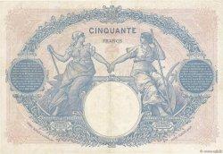 50 Francs BLEU ET ROSE FRANCE  1926 F.14.39 TTB