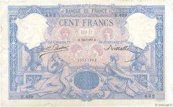 100 Francs BLEU ET ROSE FRANCE  1889 F.21.02 TB