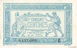 50 Centimes TRÉSORERIE AUX ARMÉES FRANCE  1917 VF.01.03 SUP+
