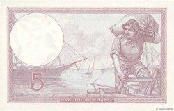 5 Francs VIOLET FRANCE  1933 F.03.17 NEUF