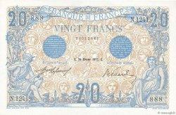 20 Francs BLEU FRANCE  1912 F.10.02 pr.NEUF