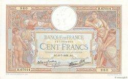 100 Francs LUC OLIVIER MERSON type modifié FRANCE  1939 F.25.48 pr.SUP