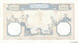 1000 Francs CÉRÈS ET MERCURE FRANCE  1937 F.37.10 TTB+