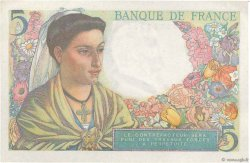 5 Francs BERGER FRANCE  1947 F.05.07a XF