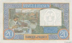20 Francs TRAVAIL ET SCIENCE FRANCE  1941 F.12.20 XF-