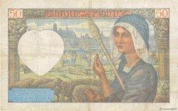 50 Francs JACQUES CŒUR FRANCE  1942 F.19.19 TB