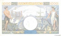 1000 Francs COMMERCE ET INDUSTRIE FRANCE  1940 F.39.02 SPL+