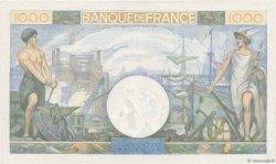 1000 Francs COMMERCE ET INDUSTRIE FRANCE  1944 F.39.12 SPL+