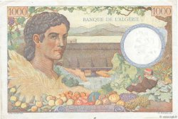 1000 Francs Algérie FRANCE  1943 VF.10.01 TTB+