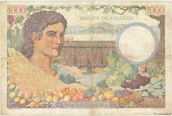 1000 Francs Algérie FRANCE  1943 VF.10.02 TB+